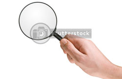ShutterStock search glass