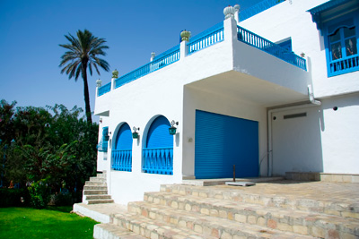 Beautiful house of Sidi Bou Said,Tunisia